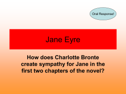 Jane Eyre - Wikispaces