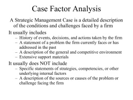 Case Analysis - Lynn & John Bruton