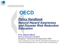 Policy Handbook Risk Awareness