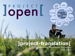 ]project-translation[ Innovations