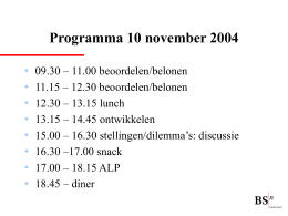 Wat doet BSN Nederland?