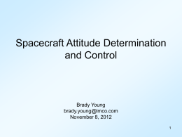 "Spacecraft Guidance, Navigation and Control ""Getting …"
