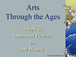 Arts Through the Ages