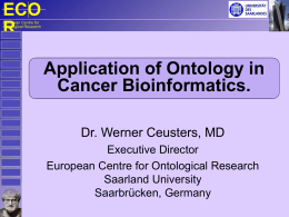 Clinical Bioinformatics for combatting cancer: the place