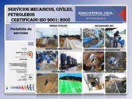 Diapositiva 1 - SEMCIPETROL LTDA
