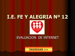 I.E. FE Y ALEGRIA