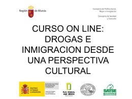 CURSO ON LINE: DROGAS E INMIGRACION DESDE UNA …