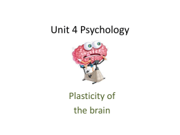 Unit 4 Psychology
