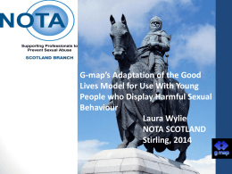 A Working Adaptation of the Good Lives Model for use …