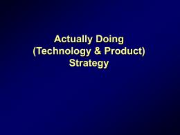 Pause IV : Organizational Architecture