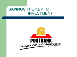 Historical Background of Postbank
