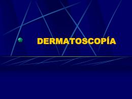 DERMATOSCOPIA - Justicia Forense