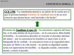 CONCIENCIA MORAL, 1 - CAMINANDO CON JESUS