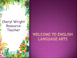 Language Arts - Kyrene School District / Best Schools in