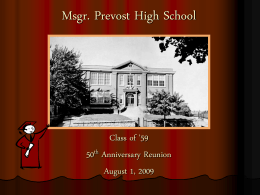 Msgr. Prevost High School