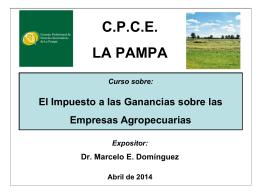 Diapositiva 1 - Consejo Profesional de Ciencias