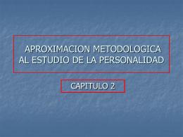 APROXIMACION METODOLOGICA AL ESTUDIO DE LA …