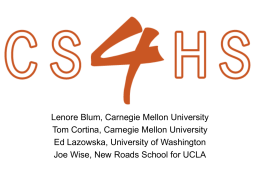The Expansion of CS4HS: An Outreach Program for High
