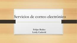 Felipe Builes Leidy Cadavid