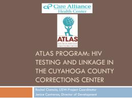 ATLAS Program: HIV testing and linkage in the Cuyahoga