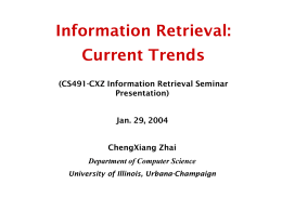 A Risk Minimization Framework for Information Retrieval