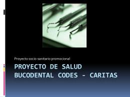 Proyecto de salud bucodental codes