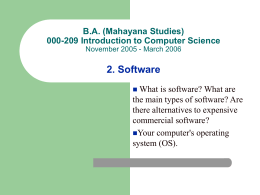 2. Software - Prince of Songkla University