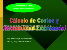 CALIDAD DEL AGUA - geco.mineroartesanal.com