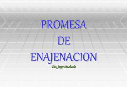 PROMESA DE ENAJENACION - Estudio Notarial Machado