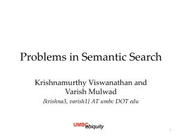 Problems in Semantic Search