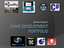 Game Development portfolio