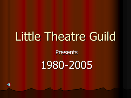 Little Theatre Guild - Mineral Area College