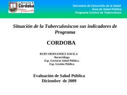 PORCENTAJE DE POSITIVIDAD CORDOBA 1987-2000