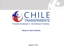 Chile Transparente