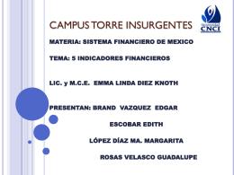 UNIVERSIDAD CNCI CAMPUS TORRE INSURGENTES