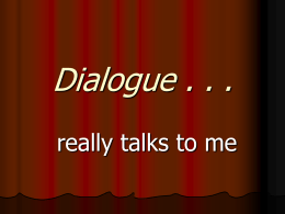 Dialogue - Texarkana Independent School District