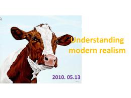 Understanding modern realism Fences