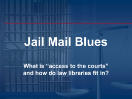 Jail Mail Blues