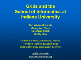 Indiana University School of Informatics