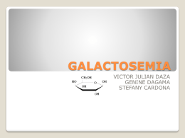 GALACTOSEMIA - DSpace at Universia: Home