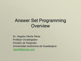 Diapositiva 1 - Rogelio Davila