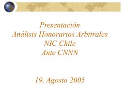 Tema 1: Honorarios Arbitrales