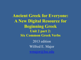 Greek 1001 Elementary Greek