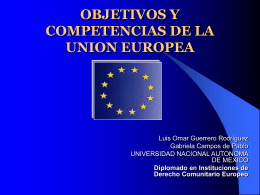 Instituciones de la Comunidad Europea