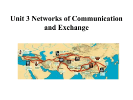 Chapter 7 Networks of Communication and Exchange …
