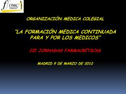 Cogreso de la Profesion medica Valencia
