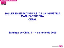 Encuesta Anual Manufacturera 2008