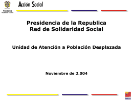 Red de Solidaridad Social
