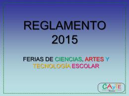 REGLAMENTO 2014