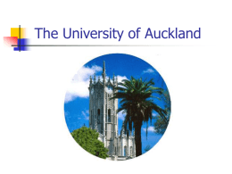 University of Auckland Library Introduction - E-LIS